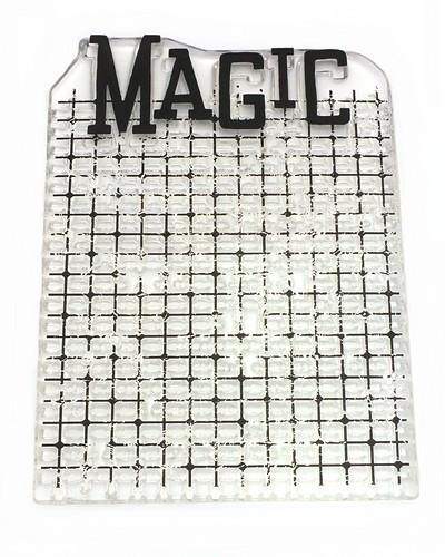 Stempel Magic ca. 7 x 10 cm 1Stk