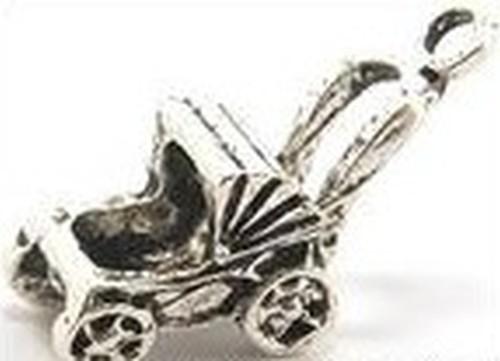 Metallanhänger Buggy ca. 8 x 23mm altsilberfarben