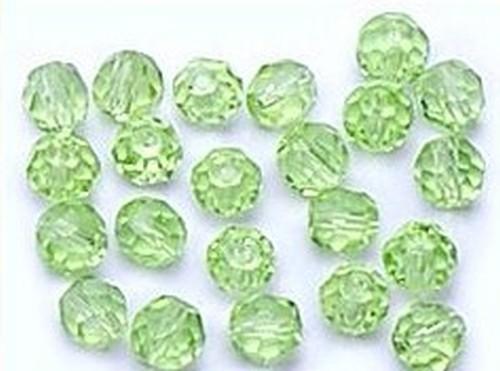 Glasschliffkugeln ca. 4mm #26 aqua