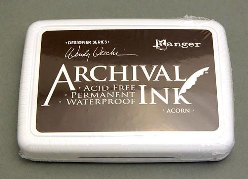 Ranger Archival Ink ACORN 97 x 67 mm