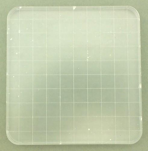 Stempelblock Acryl 10 x 10 cm