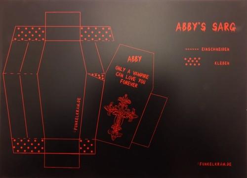 Vampinchen Abby's Sarg ca. 8x4cm 1Stk