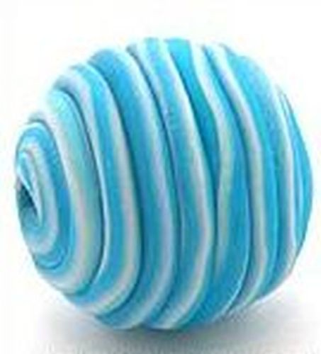 Papillon-Perle Wrappy ca. 22mm blau