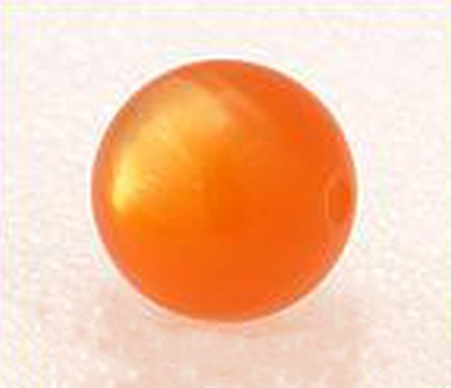 Polar-Perle ca. 17mm #12 orange 1Stk