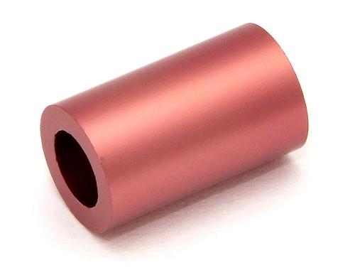 Loxalu® Beads Röhrchen ca. 10 x 6mm kupfer-rot 1Stk