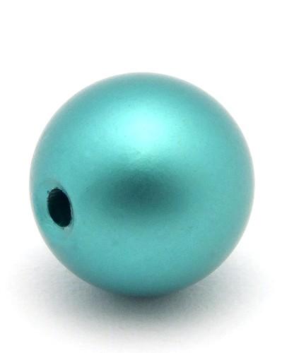 Loxalu® Beads Kugel ca. 10mm petrol