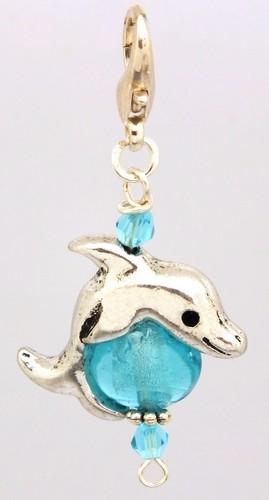 Bastelset Delphin türkis
