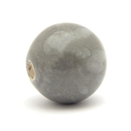 Keramikperle Pasipo ca. 20mm dust meliert