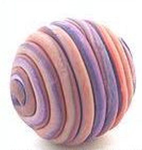Papillon-Perle Wrappy ca. 22mm purple 1Stk