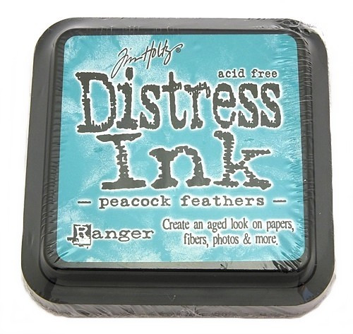 Ranger Distress Ink Peacock Feathers 75 x 75 mm
