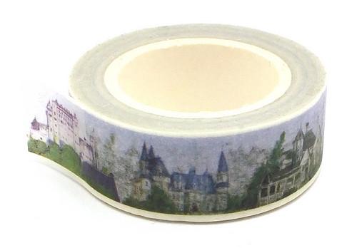 Rolle Washi Tape Schloß ca. 15mm breit