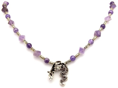 Kette Dragon Intuition Amthyst - K52