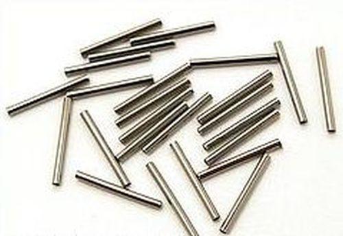 Metallstäbchen ca. 15 x 1,5mm eisenfarben 25Stk