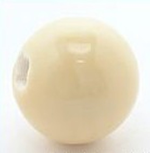 Keramikperle Pasipo ca. 20mm safran soft 1Stk