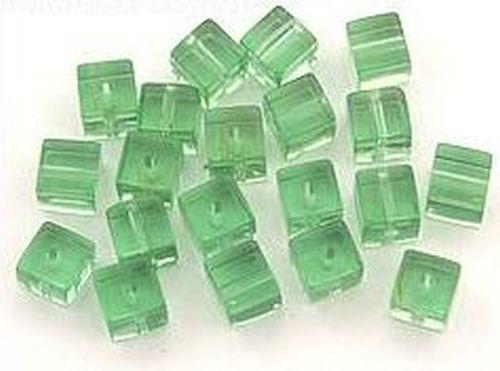 Glaswürfel ca. 6mm #26 aqua 20Stk