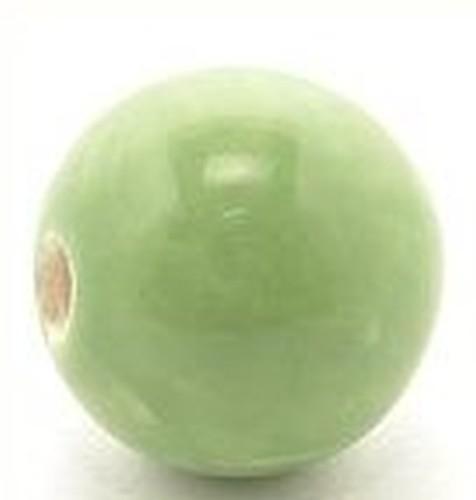 Keramikperle Pasipo ca. 20mm apple 1Stk