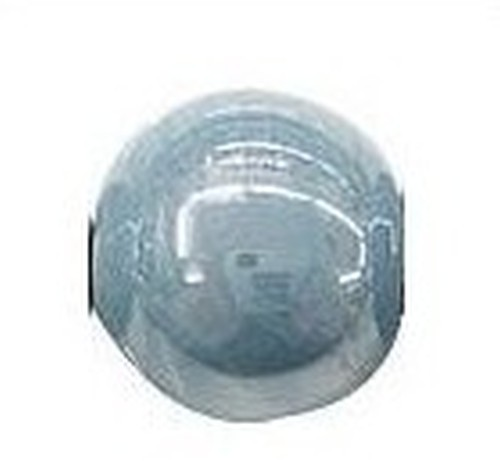 Keramikperle Karibu ca. 18mm blaugrau