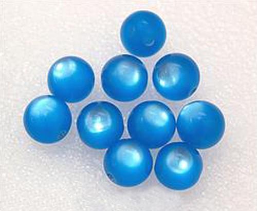 Polar-Perlen ca. 12mm #15 aqua dunkel 10Stk