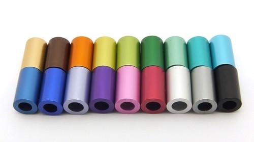 Loxalu® Beads Röhrchen Mix ca. 10 x 6mm