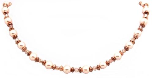 Kette Pink-Copper-Classic - K79 1Stk