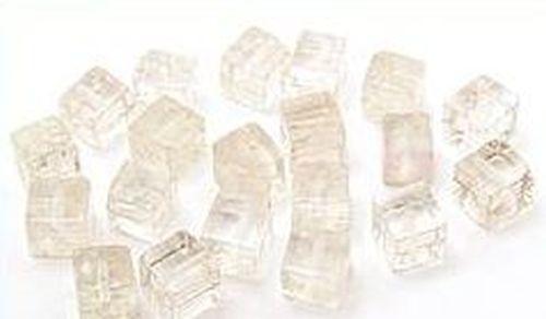 Bergkristall Würfel ca. 6mm