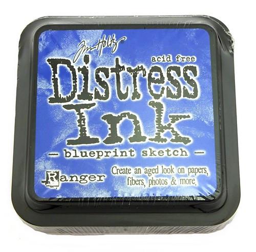 Ranger Distress Ink Blueprint Sketch 75 x 75 mm 1Stk