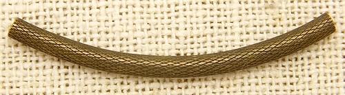 Steampunk Röhrchen Pipe ca. 43mm antikfarben