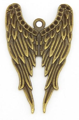 Engelflügel Anhänger URIEL ca. 39 x 23mm 1Stk