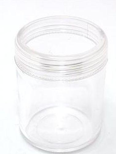 Acryldose mit Schraubverschluss ca. 39 x 49mm 1Stk