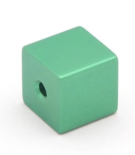 Loxalu® Beads Würfel ca. 8 x 8mm hellsmaragd