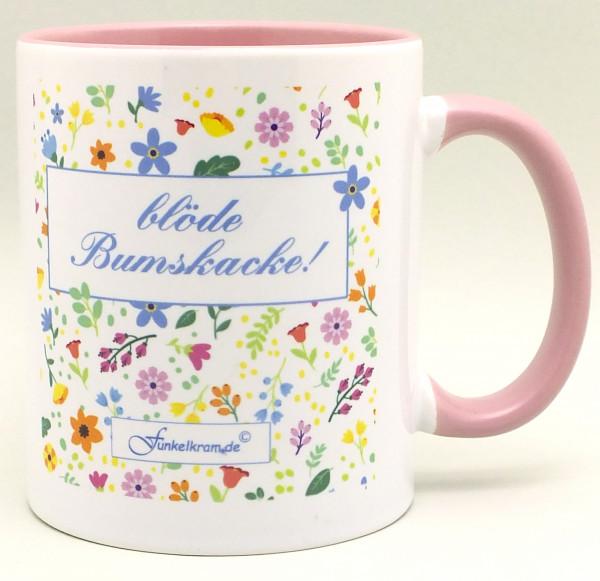 "Juttas Tasse ""blöde Bumskacke"" :)"