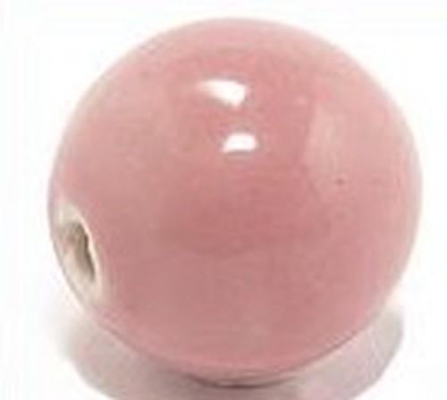 Keramikperle Pasipo ca. 18mm rosa 1Stk
