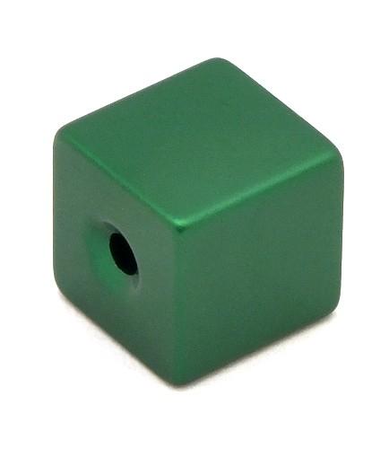 Loxalu® Beads Würfel ca. 8 x 8mm grün