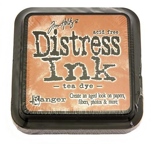 Ranger Distress Ink Tea Dye 75 x 75 mm