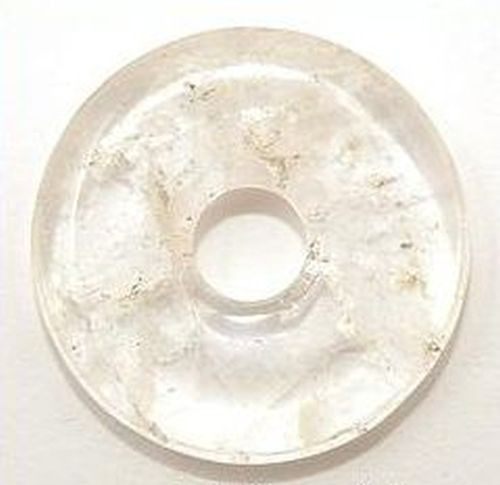 Bergkristall Donut ca. 40 x 40mm