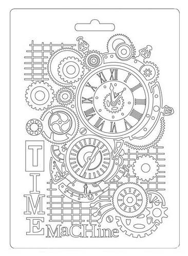 Stamperia Soft Mould A5 Time Machine