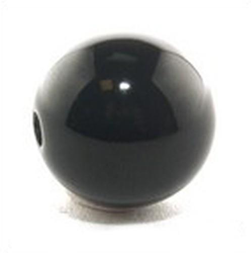 Polar-Perle ca. 17mm #09 schwarz