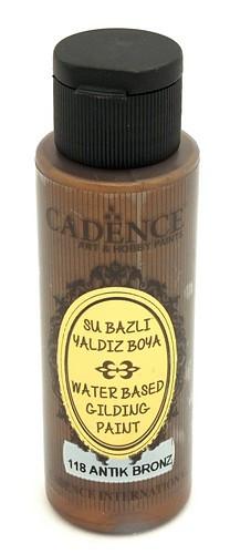Cadence Metallic Acrylfarbe Antik Bronze 70ml