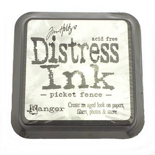 Ranger Distress Ink Picket Fence 75 x 75 mm 1Stk