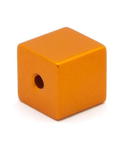 Loxalu® Beads Würfel ca. 8 x 8mm orange 1Stk