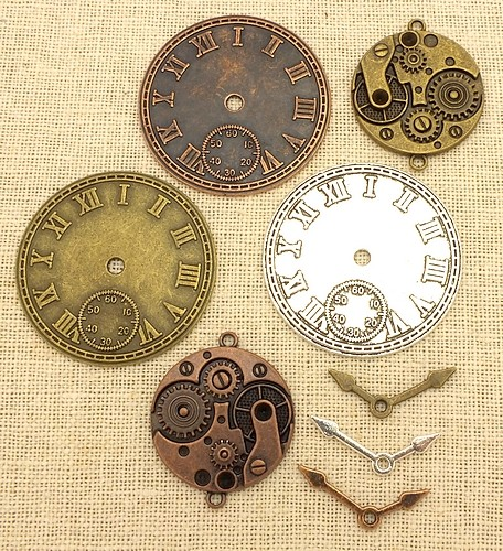 Steampunk Clock Mix
