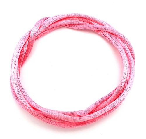 Satinband ca. 2mm pink 1m