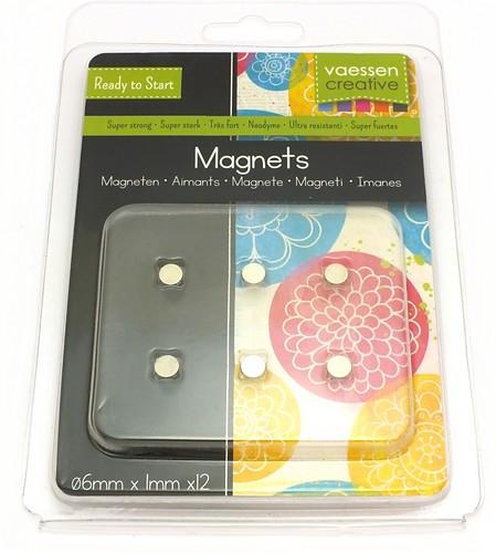 Magnet-Set super stark 8 x 1mm 12 Stk