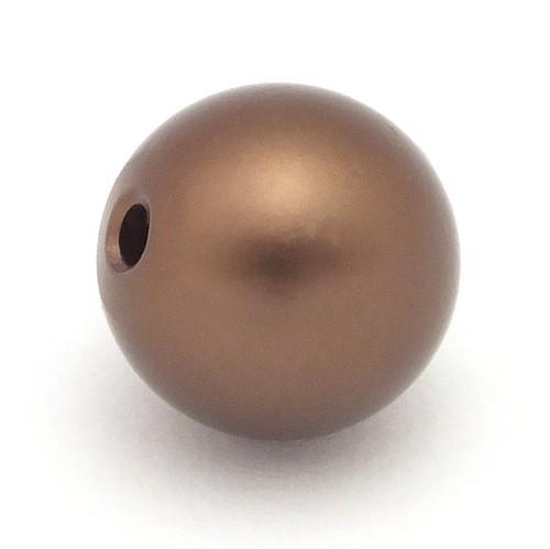 Loxalu® Beads Kugel ca. 10mm braun