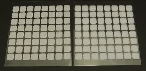 Mini Klettverschlüsse selbstklebend 64-teilig 1Stk
