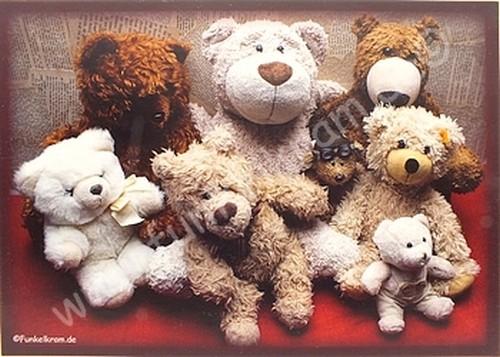 "Teddykarte ""Bärenfreunde"""