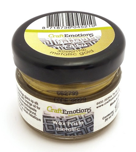 Craft Emotions Gilding Wax goldfarben 20ml 1Stk