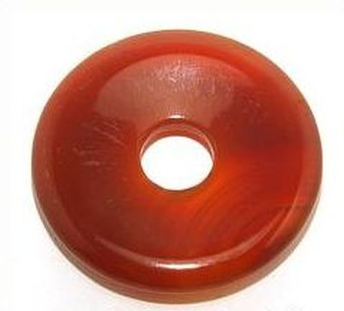Carneol Donut ca. 40 x 40mm