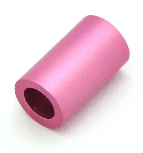 Loxalu® Beads Röhrchen ca. 10 x 6mm rosa 1Stk