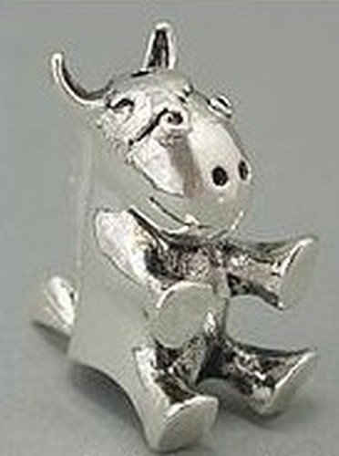 Funkelpferd ca. 26mm für Perlen von ca. 14-22mm 1Stk